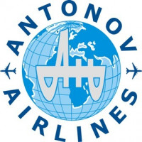 Antonov Airlines Aircraft Logo Decal