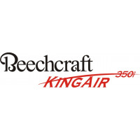Beechcraft King Air 350i Aircraft Logo