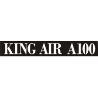 Beechcraft King Air A100 Aircraft Logo
