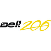 Bell 206 Helicopter Aircraft Logo