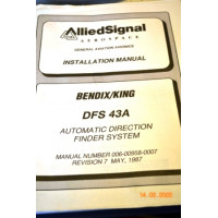 BENDIX KING DFS 43A AUTOMATIC DIRECTION FINDER SYSTEM
