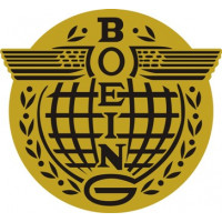 Boeing Globe Wings Aircraft Logo