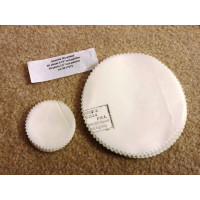 """Ceconite 101 Inspection Patches 5.75"""" pinked edges & 2.5 Dollar Patches"""