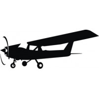 Cessna 152 Airplane Decal