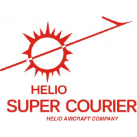 Helio Super Courier Aircraft  Logo