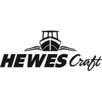 Hewes Craft Boat Logo Decal