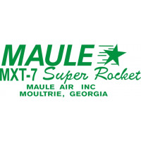 Maule MX-7 Super Rocket Aircraft Logo