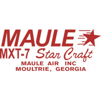 Maule MXT-7 Star Craft Aircraft Logo