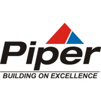 Piper Building On Excellence Aircraft Emblem, Logo