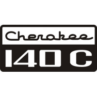 Piper Cherokee 140 C Decal