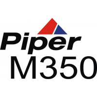 Piper Meridian 350 Aircraft Logo Decal