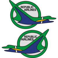 Republic Airlines Aviation Aircraft Logo