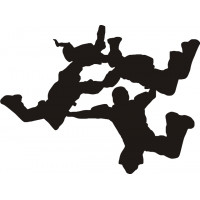 Skydiving Air Formation