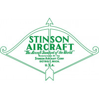 Stinson Detroit Michigan Aircraft Logo